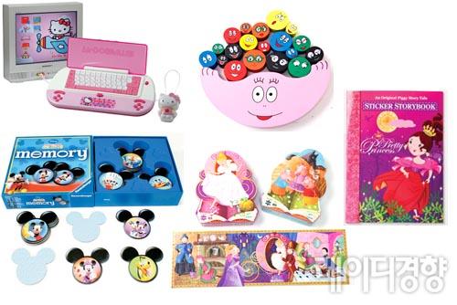 [육아용품 쇼핑의 달인]캐릭터 장난감으로 우리 아이 지능 높이기
