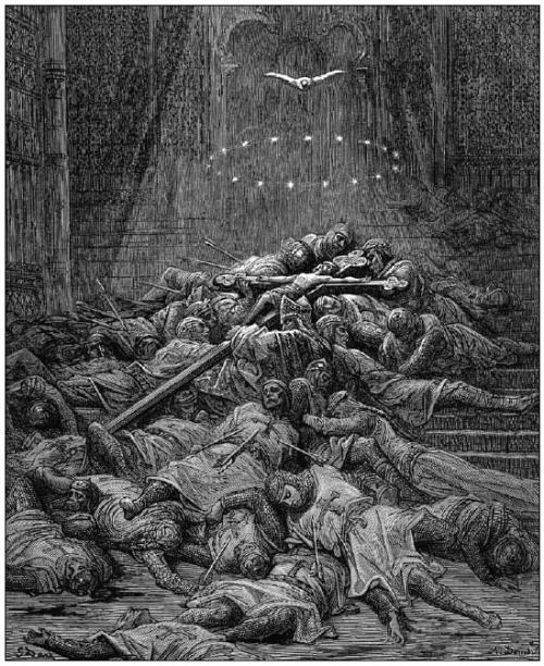 神의 사도 '십자군'…갑옷 뒤 맨얼굴은…결국 인간의 욕망
