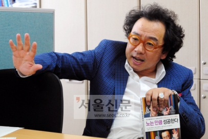 [저자와 차 한 잔] '노는 만큼 성공' 김정운 교수