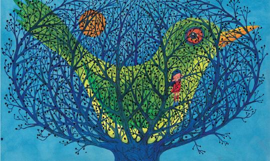 [그림책 마을]나는 새장에 갇힌 작은 새 같아. 날기를 갈망하는…