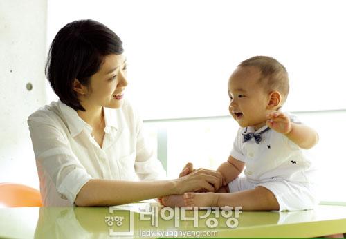 출산 후 첫 공개! 고민정 아나운서의 초보엄마 육아일기