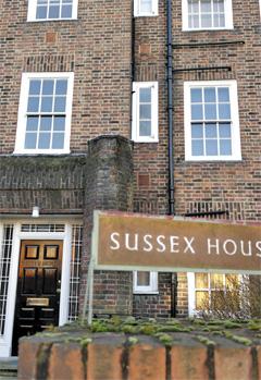 [조선일보]런던 북부 벨사이즈 파크에 있는 알랭 드 보통의 집필실'서섹스 하우스'.